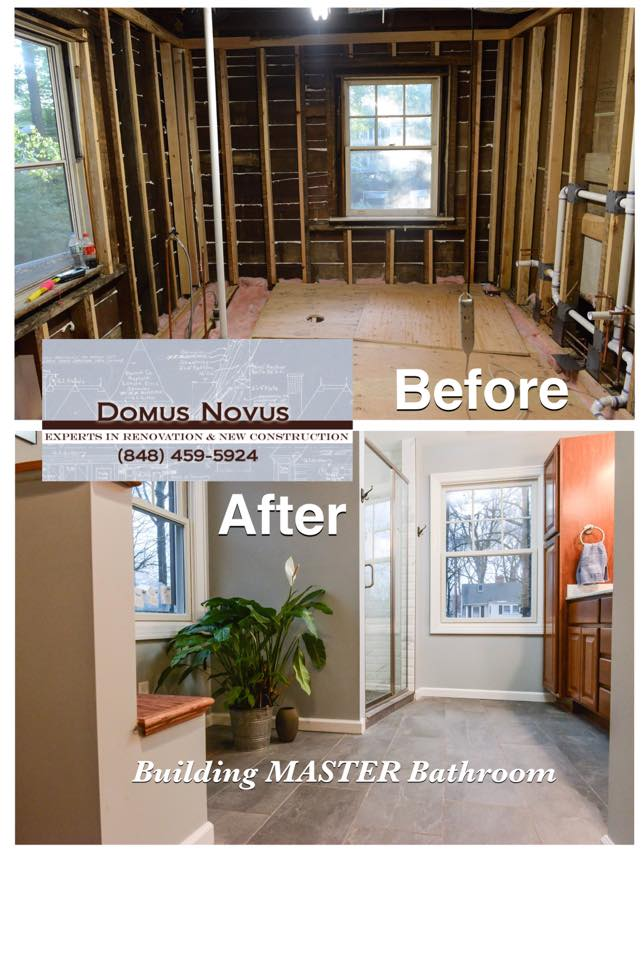 Bathroom Building or Remodeling or Renovation by General Contractors Servicing Bathroom Building and Renovation in Central New Jersey, Summit, Chatham, Madison, Livingston, Westfield, Martinsville, Metuchen, Edison New Jersey areas.